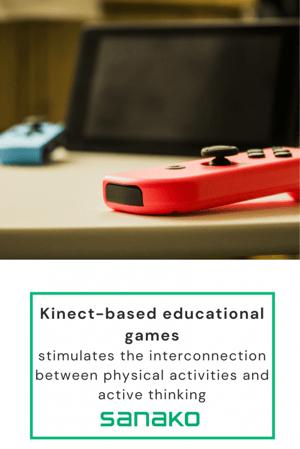 Image of kinect-based educational games