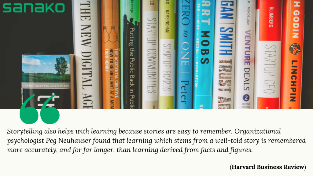 quote related to story-based language teaching method