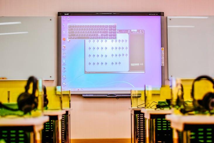Sanako lab 100 installation thailand